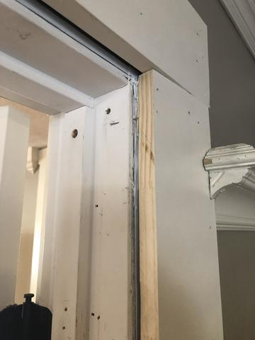 French doors incorrectly installed by Contractor