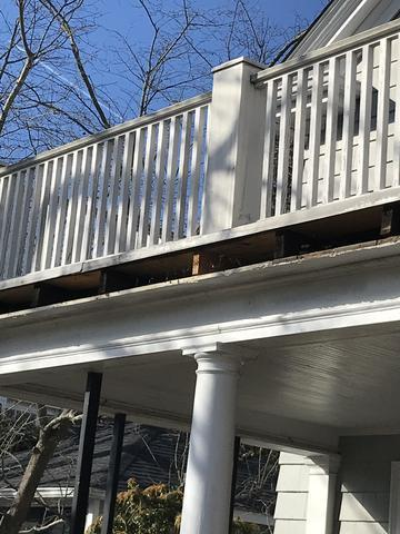 Rotting fascia boards can lead to water damage.