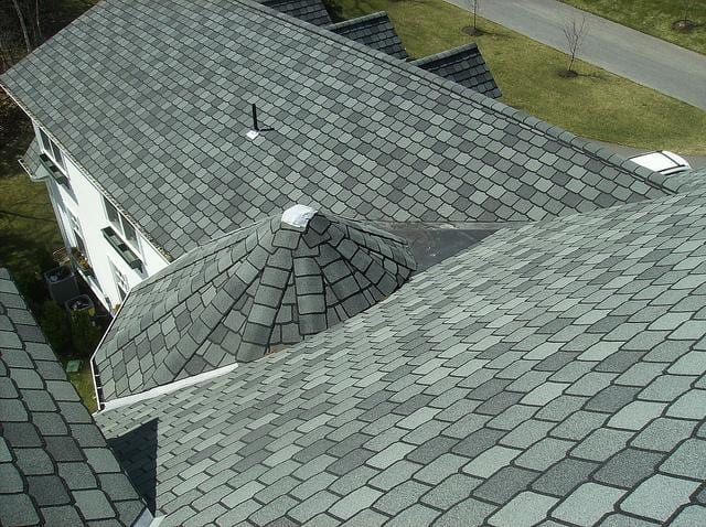 Gorgeous new roof for this grand manor!