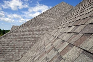 Asphalt Shingle roof replacement by roofing contractor in Newton, Wellesley, Brookline, and Needham.