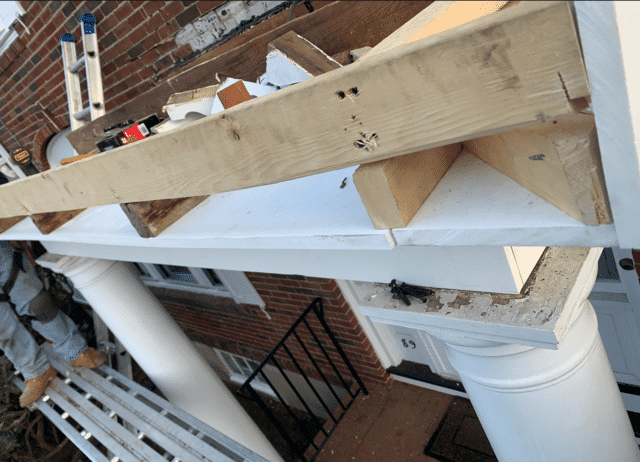 The carpentry on these boards were significantly rotting and needed to be replaced.