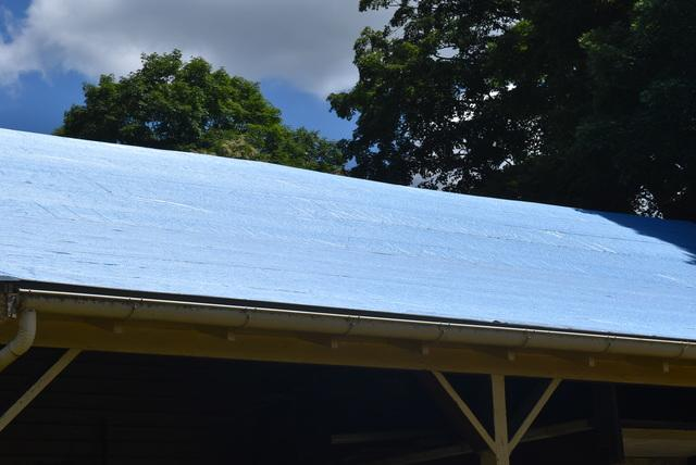 Installing underlayment to protect the roof from ice, rain, and snow.