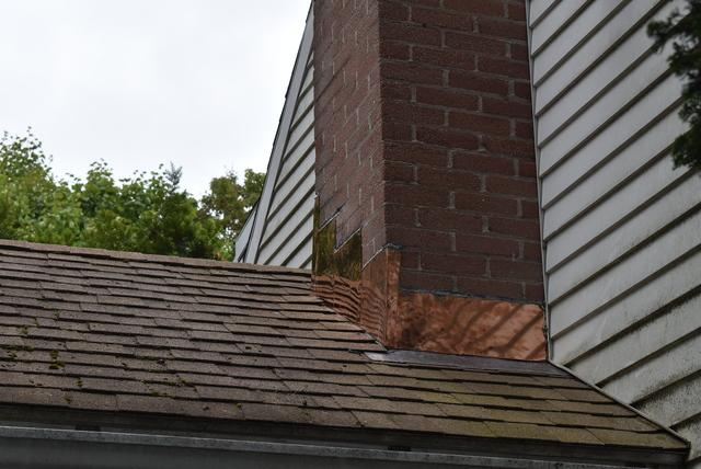 Copper flashing is a durable material that protects the home while adding to the beauty of a home.