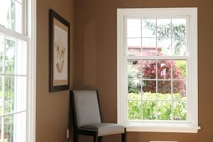 Wood replacement windows in Newton, Needham, Wellesley, and Brookline by roofing company.