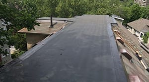 Because any flat roof is inherently prone to leaking, it's important to hire skilled installers whenever flat roofing is repaired, replaced or installed.