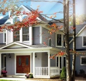Siding installation by roofing company in Newton, Wellesley, Brookline, and Needham.