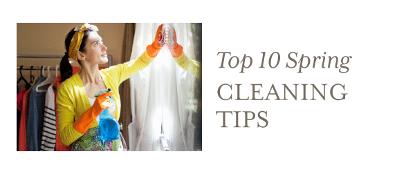 Top 10 Spring Cleaning Tips in Greater Boston