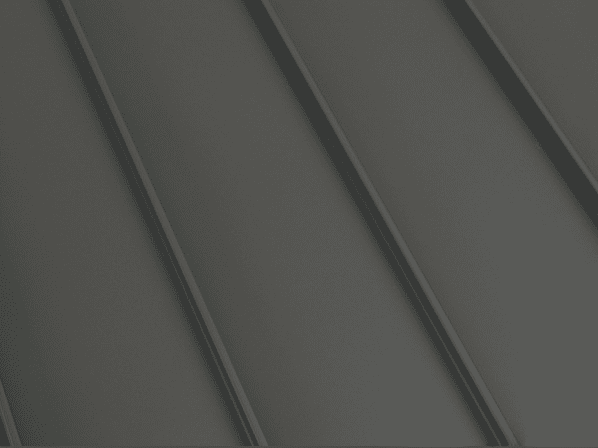 Central States Standing Seam - Deep Charcoal