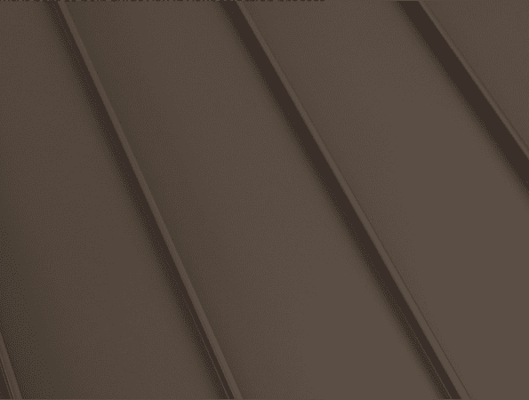 Central States Standing Seam - Mustang Brown