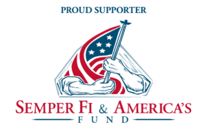 proud supporter of Semper Fi Fund